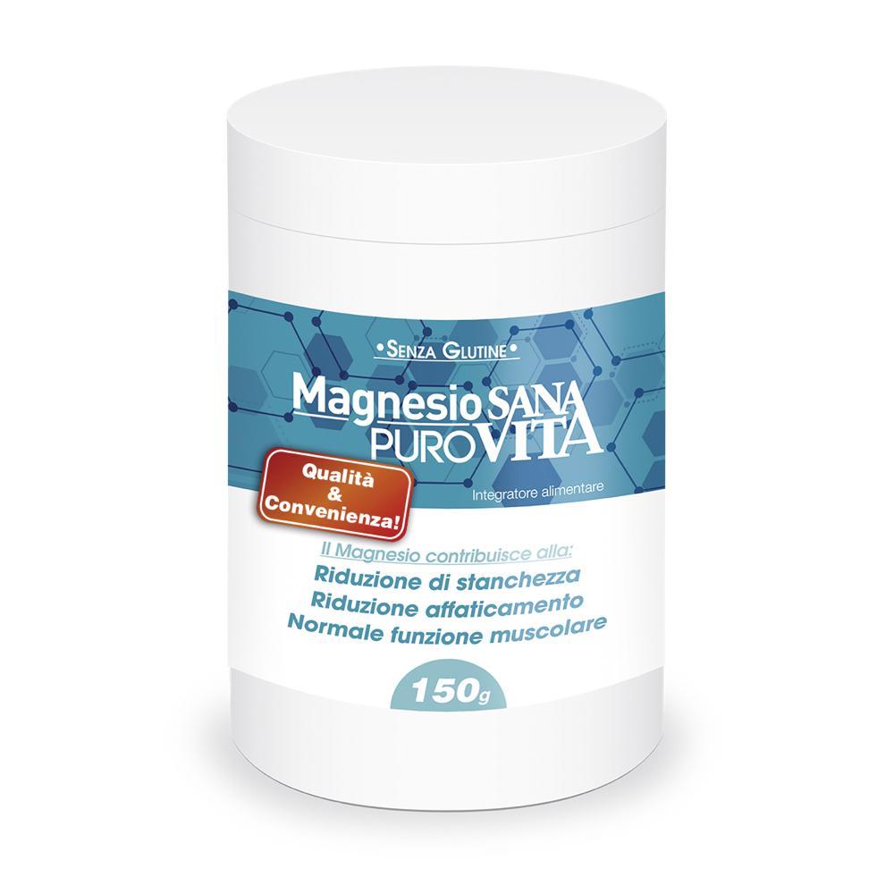 Acido Citrico Dosi Alimentari sanavita magnesio puro - integratore a base di magnesio citrato