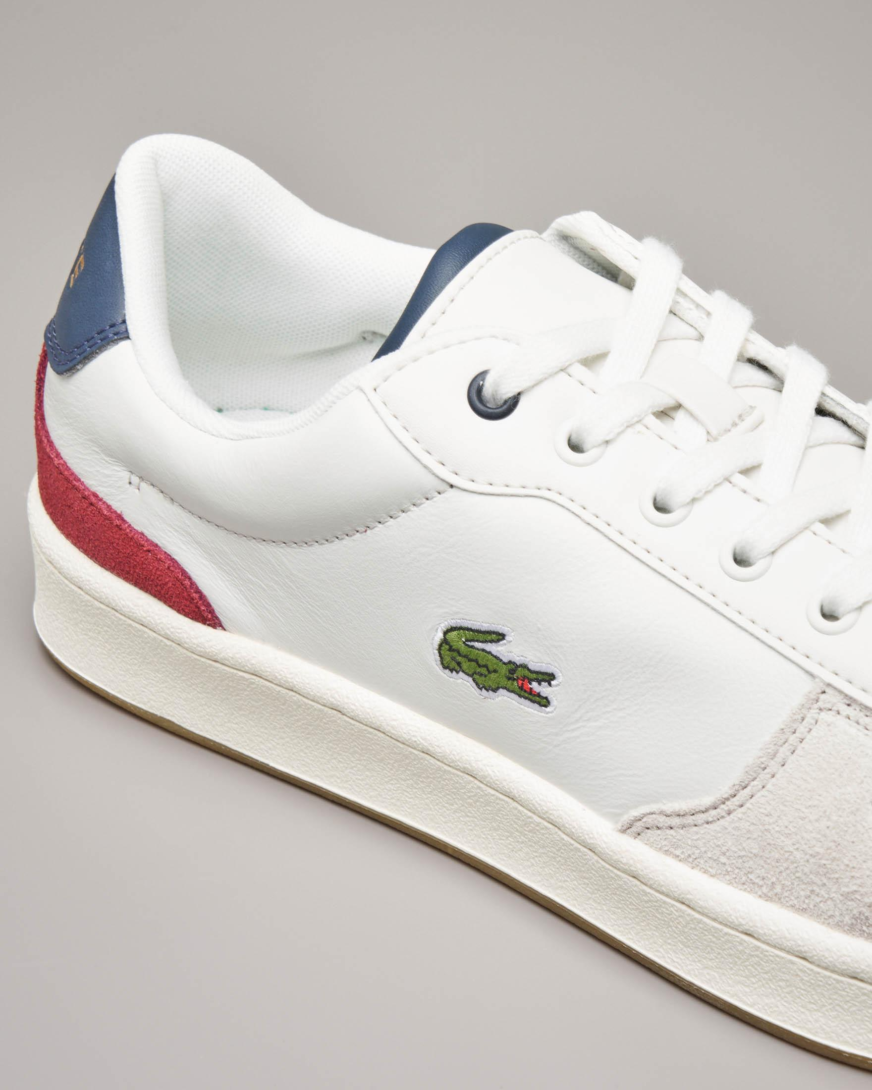 Sneakers Masters cup bianche in pelle