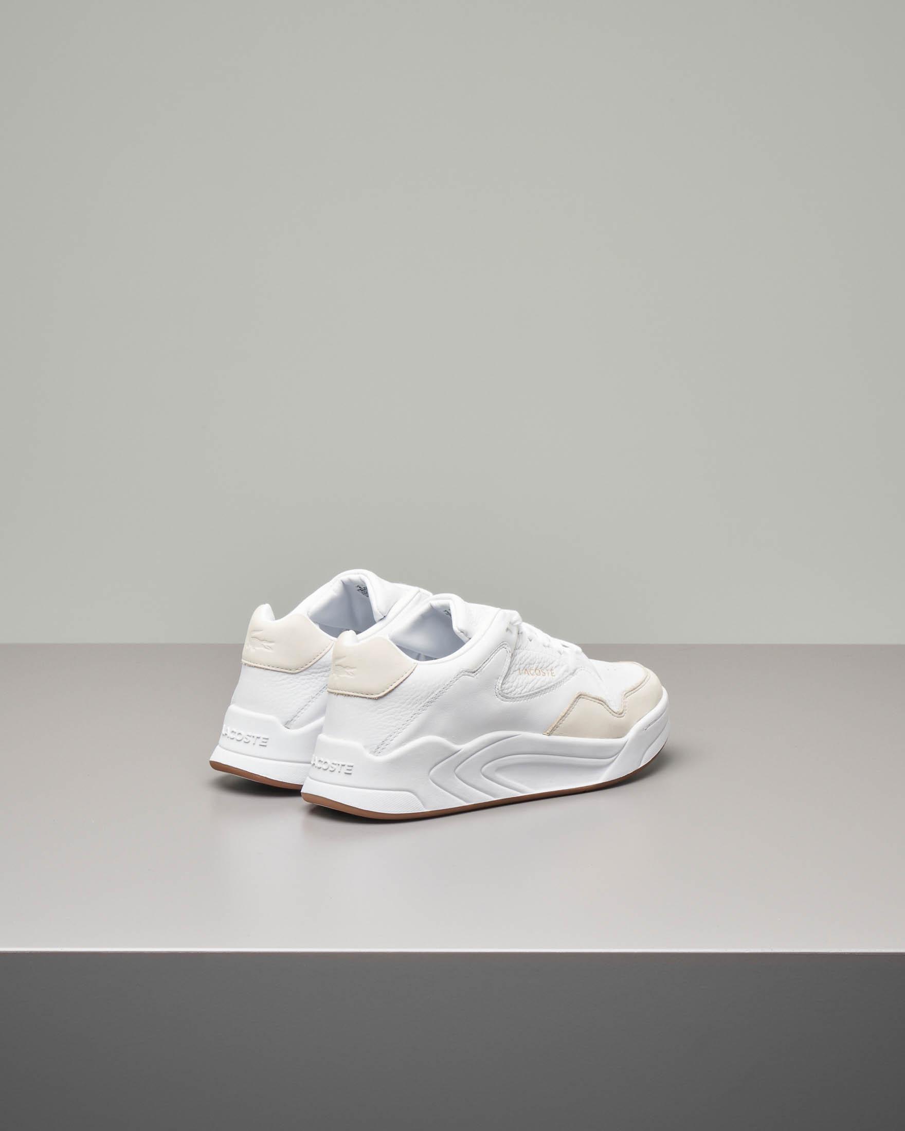 Sneakers bianche in pelle Court Slam