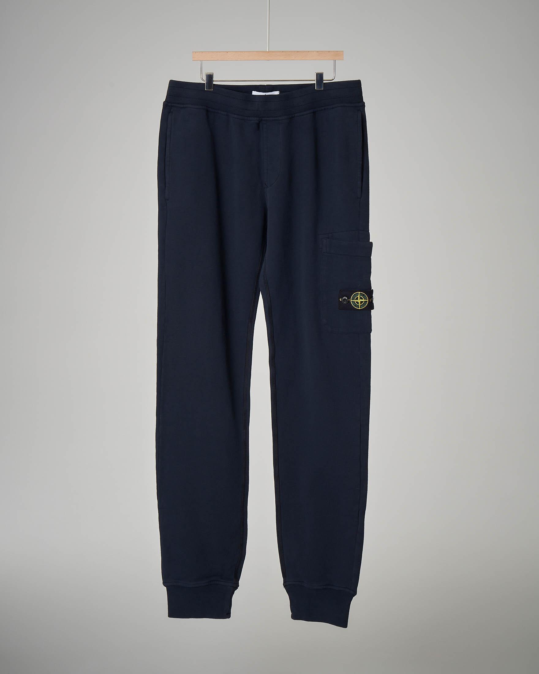 Pantalone in felpa blu 10-12 anni