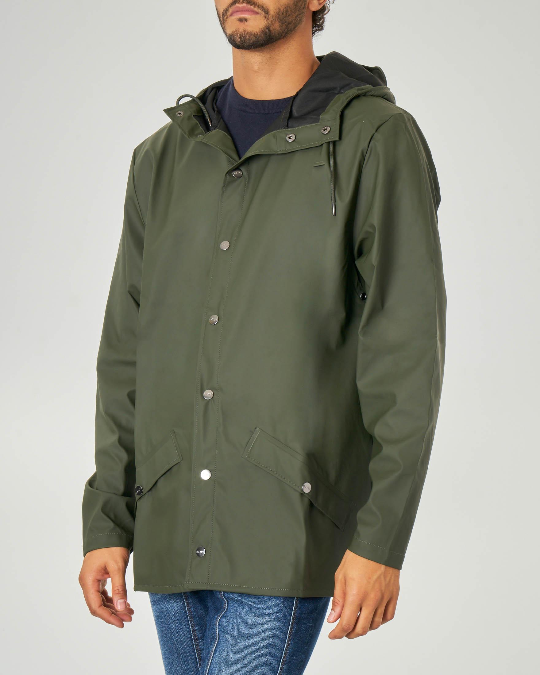 Impermeabile Jacket verde