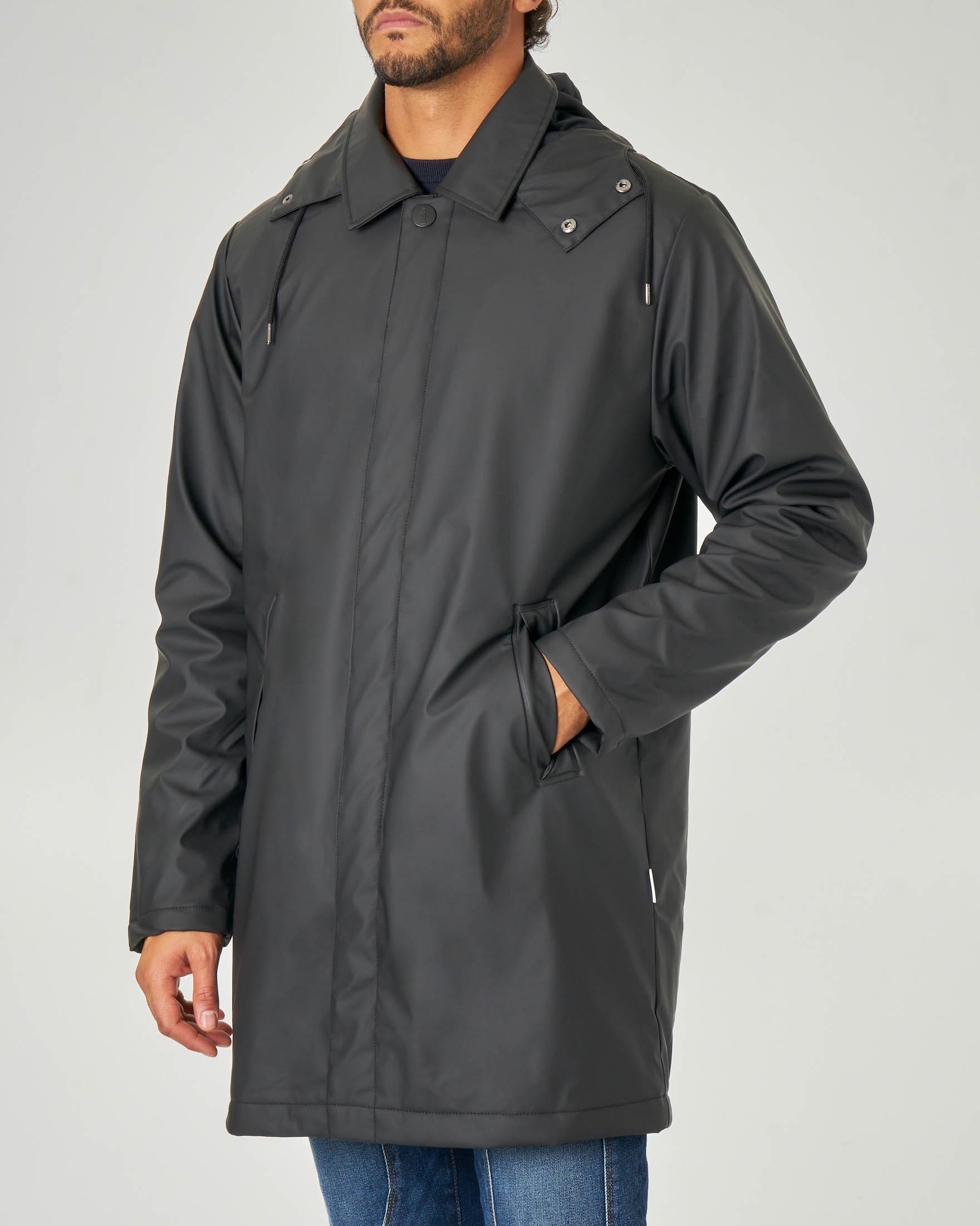 Impermeabile Mac Coat nero