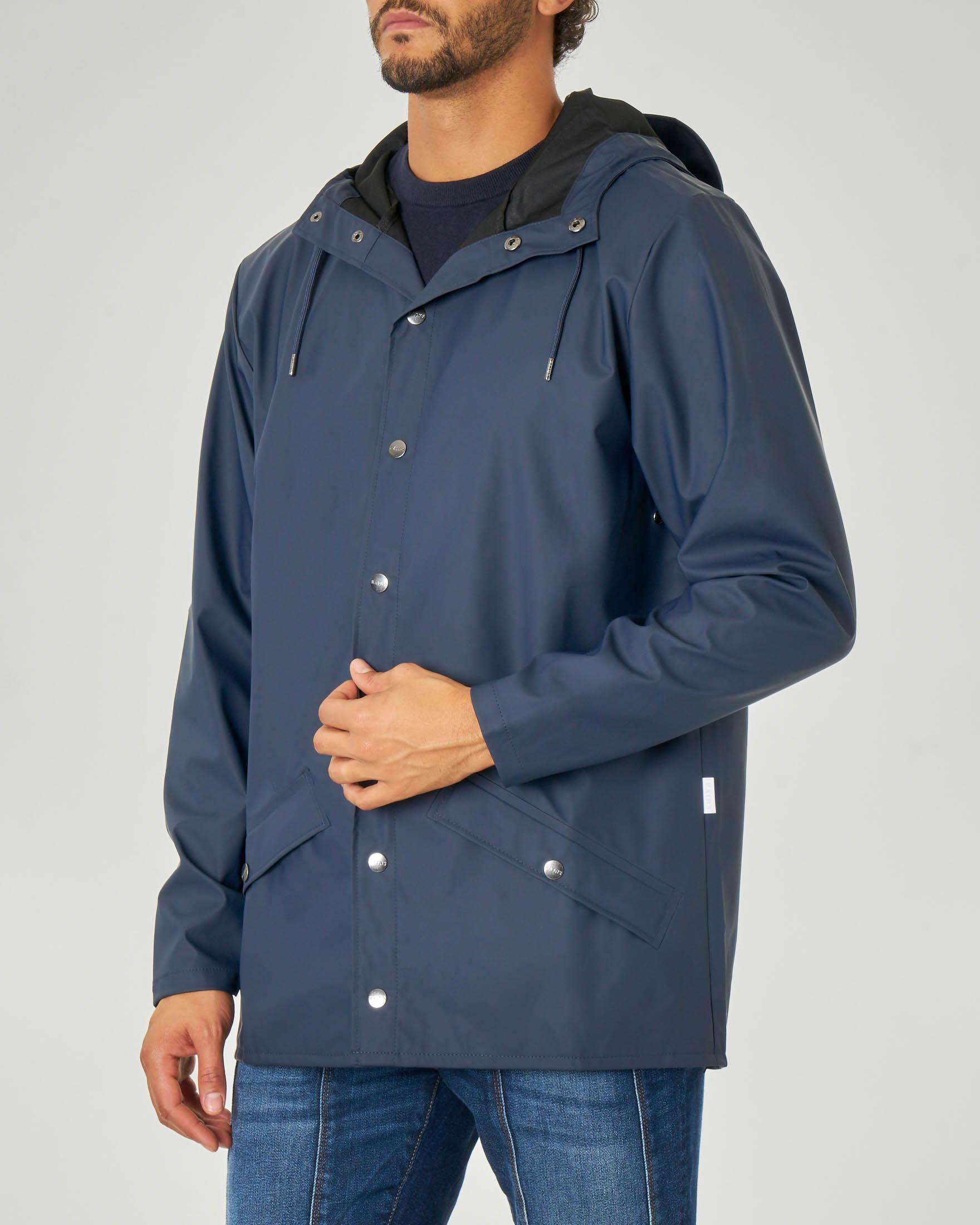 Impermeabile Jacket blu