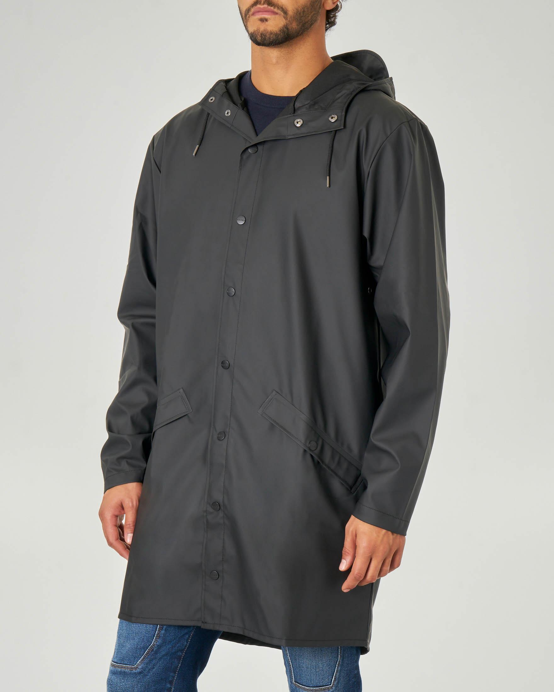 Impermeabile Long Jacket nero