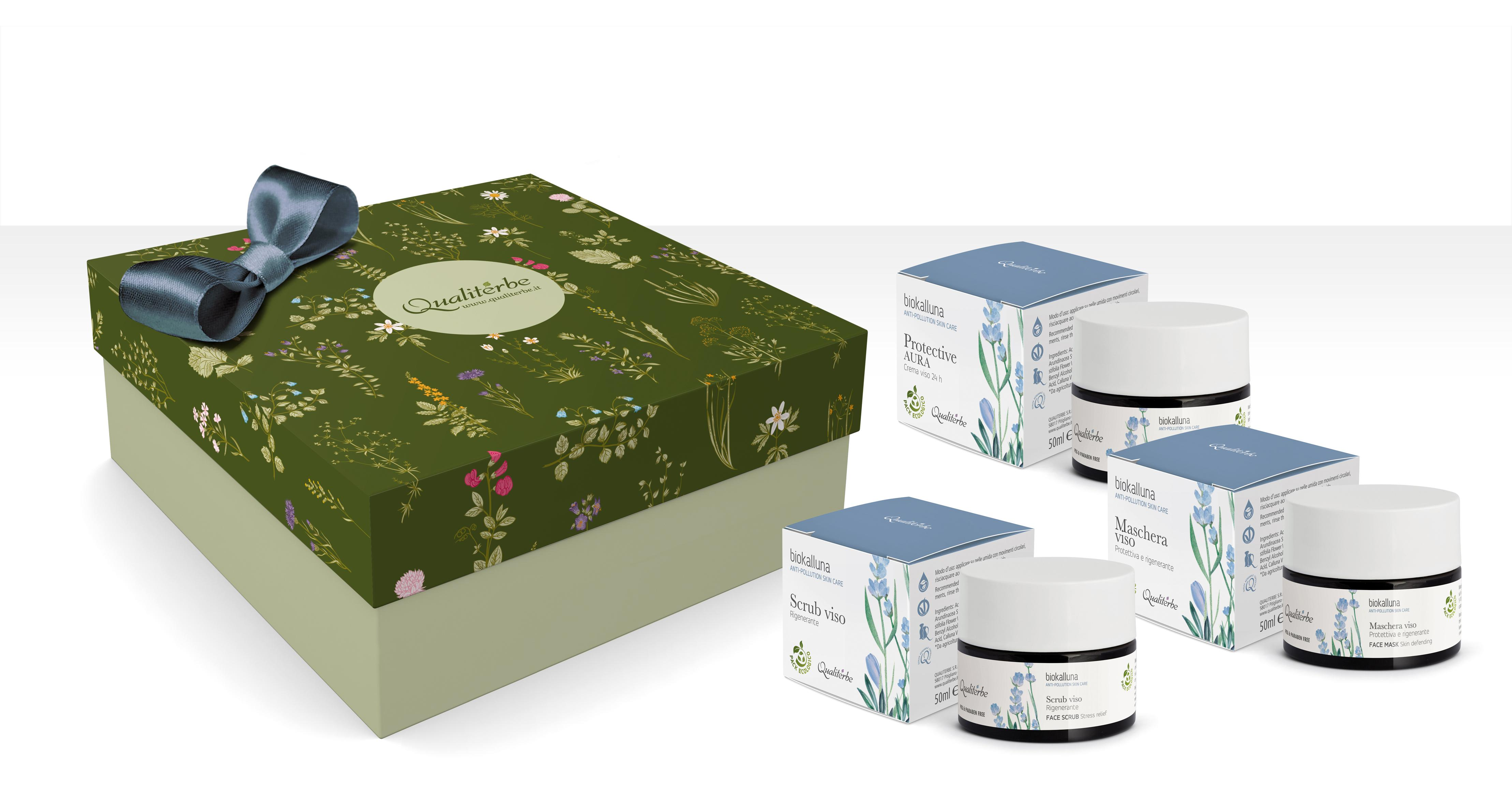 Quality Bio Anti-Pollution Skin Care  Full Line Gratis spedizione e confezione regalo Biokalluna