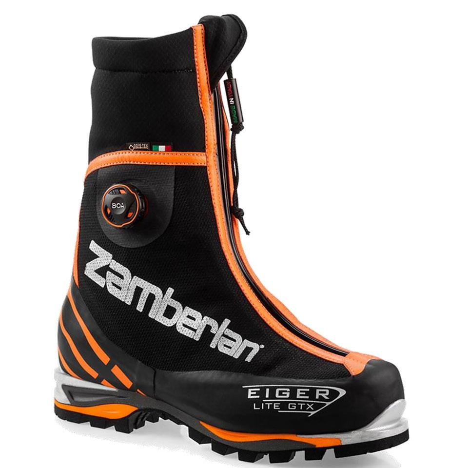 3030 EIGER LITE GTX® RR BOA®    -   Men's Mountaineering  Boots   -   Black/Orange