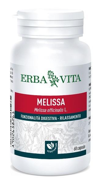 MELISSA - INTEGRATORE FUNZIONALITA' DIGESTIVA E RILASSAMENTO 400 MG 60 CAPSULE ERBAVITA