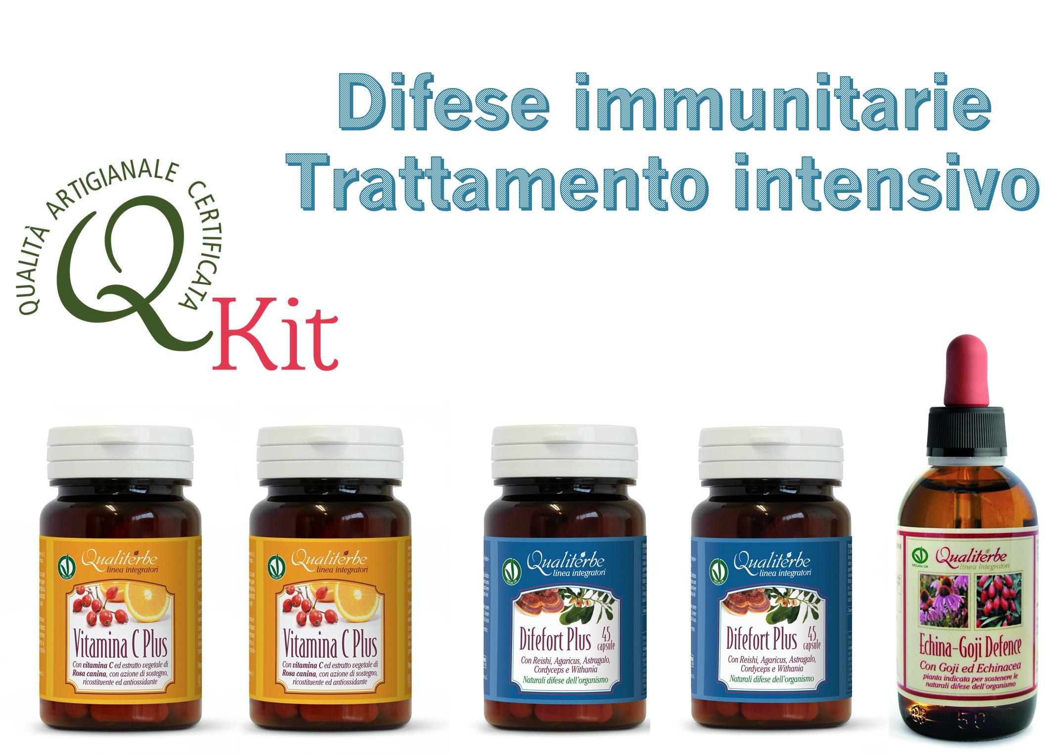 Kit Difese Immunitarie Trattamento Intensivo Obiettivo Attacco