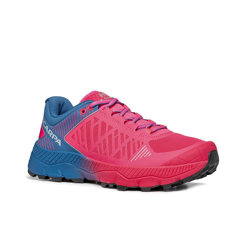 SPIN ULTRA WMN    -   Trail running model for top runners   -   Rose Fluo