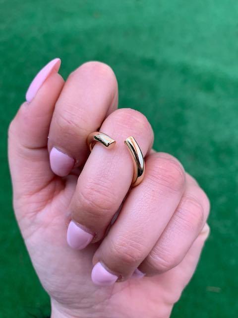 Anello Nalì oro sottile aperto