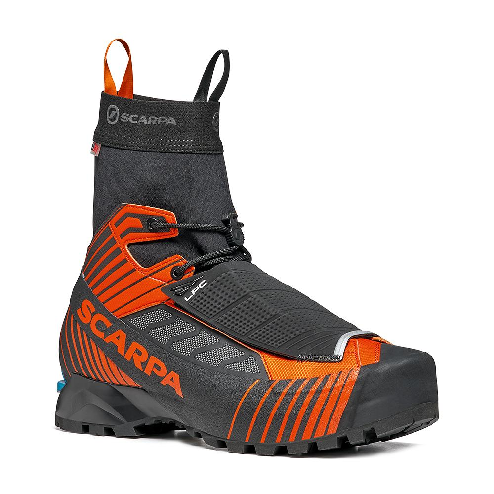 RIBELLE TECH HD   -   Alpinismo tecnico veloce, ultraleggero   -   Black-Orange