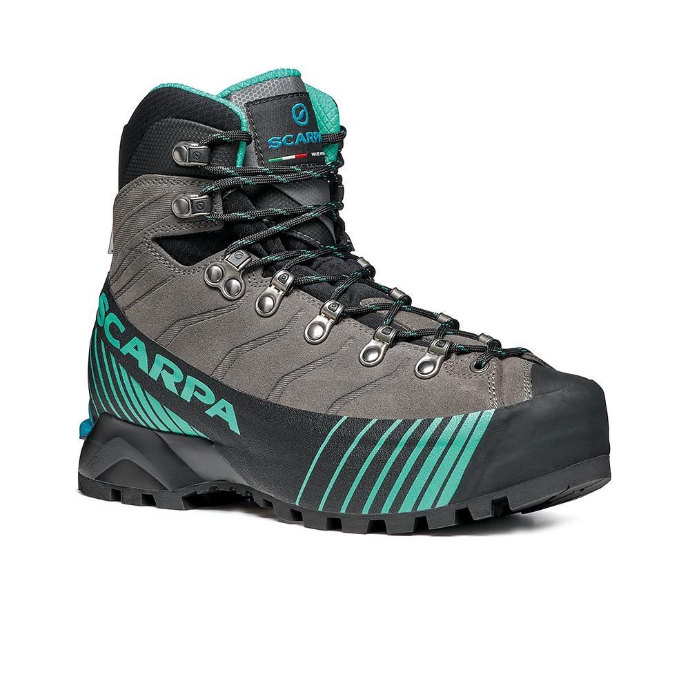 RIBELLE HD WOMAN  -   Alpinismo veloce, vie ferrate e backpacking   -   Titanium-Aqua