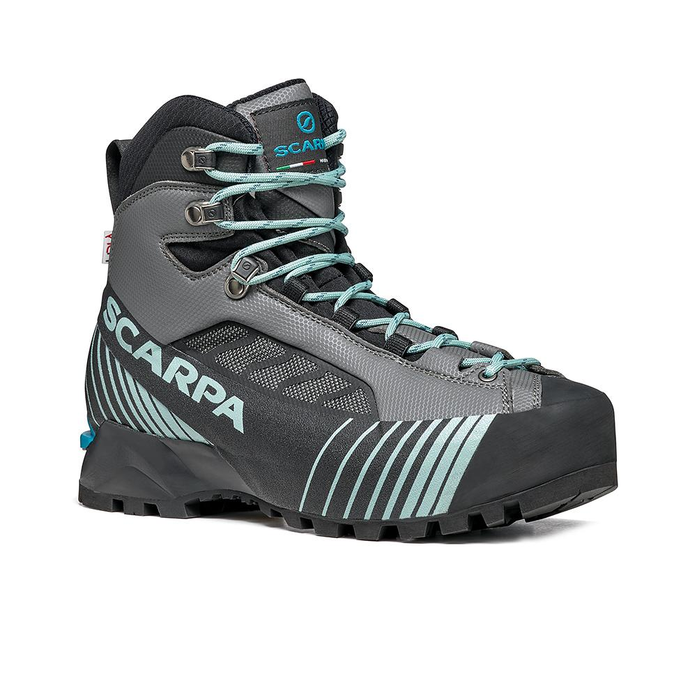 RIBELLE LITE HD  WOMAN     -   Alpinismo tecnico veloce, vie ferrate e backpacking   -   Iron Gray-Jade