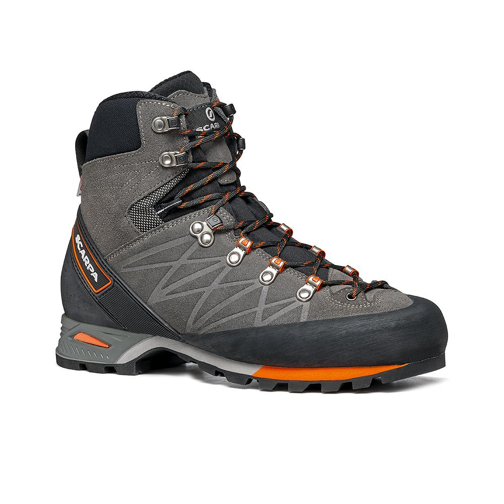 MARMOLADA PRO  HD   -   Backpacking boots   -   Shark-Orange / Last Wide