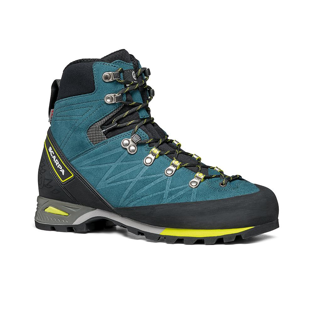 MARMOLADA PRO  HD   -   Backpacking boots   -   Lake Blue-Lime / Last Wide