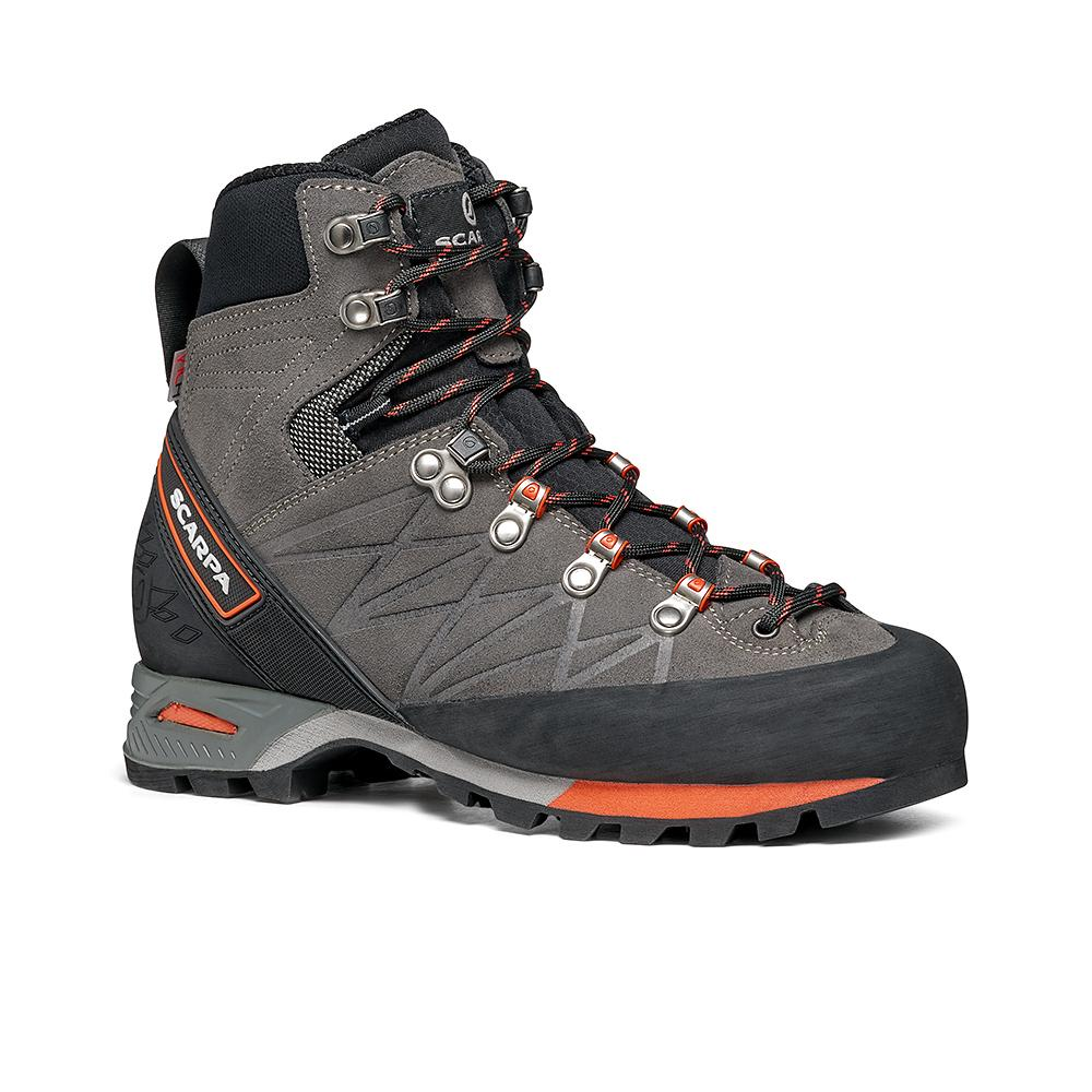 MARMOLADA PRO HD WOMAN   -   Backpacking boots   -  Shark-Coral / Last Wide