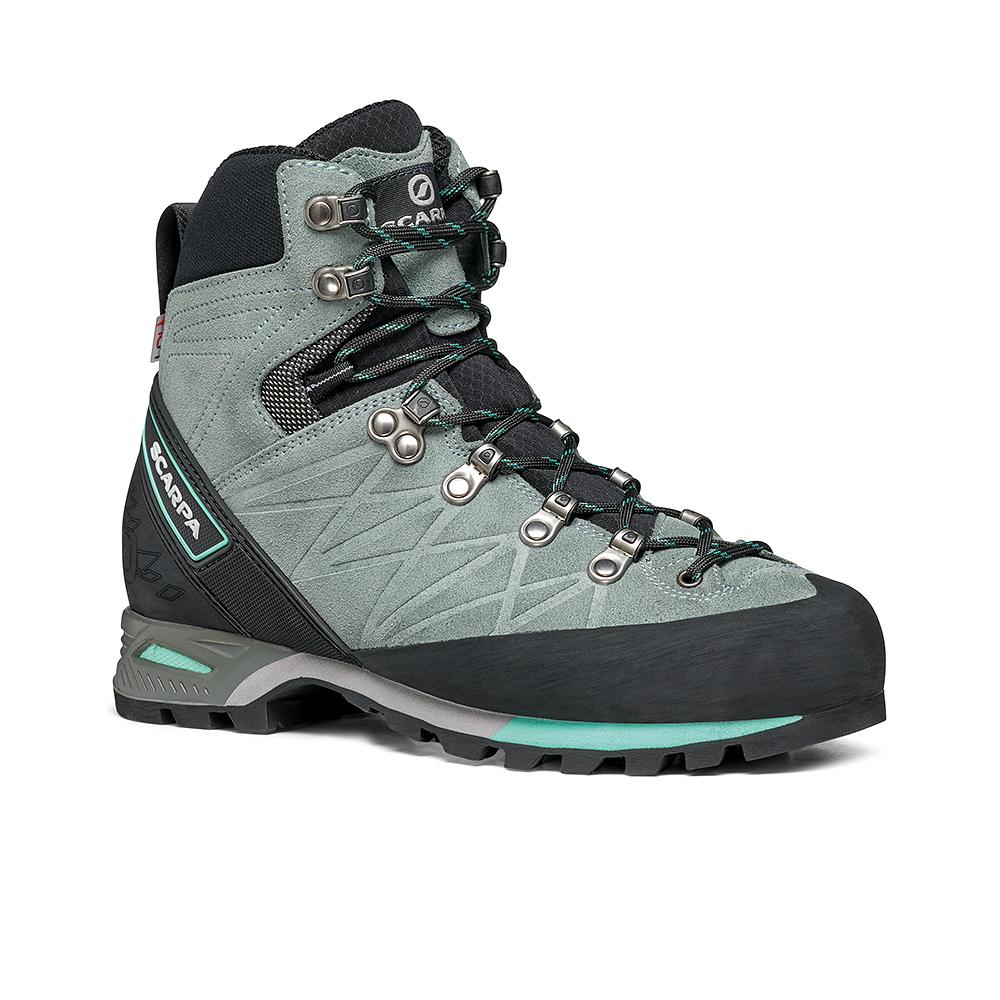 MARMOLADA PRO HD WOMAN   -   Backpacking boots   -  Conifer Ice-Green / Last Wide