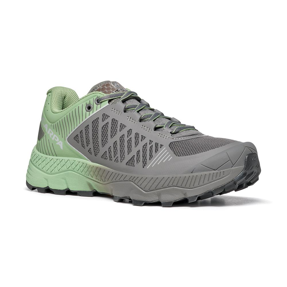 SPIN ULTRA WOMAN    -   Trail Running per lunghe distanze   -   Shark-Mineral Green