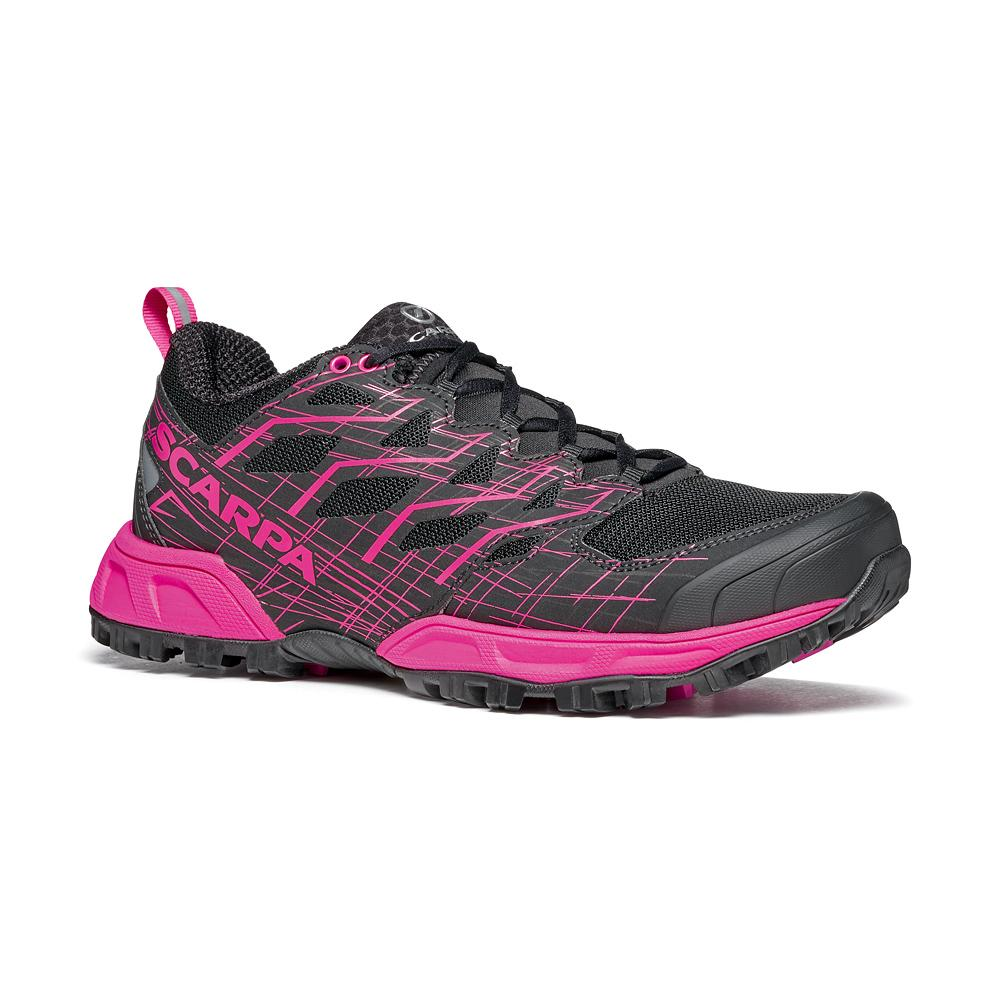 NEUTRON 2 WMN   -   Comfortable fit and great cushioning   -   Black-Pink Glow