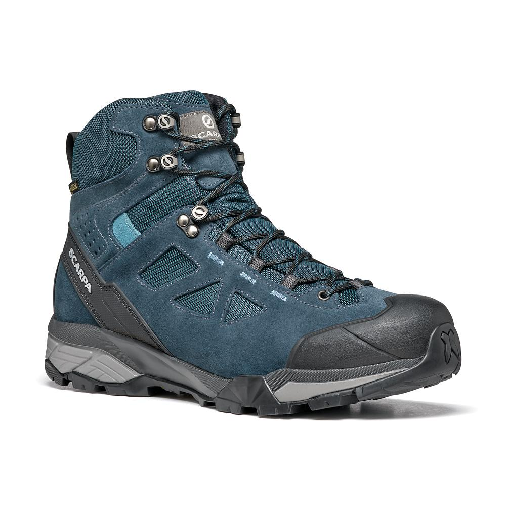 ZG LITE GTX   -   Trekking on trails, lightweight, waterproof   -   Octane-Lake Blue / Last Wide