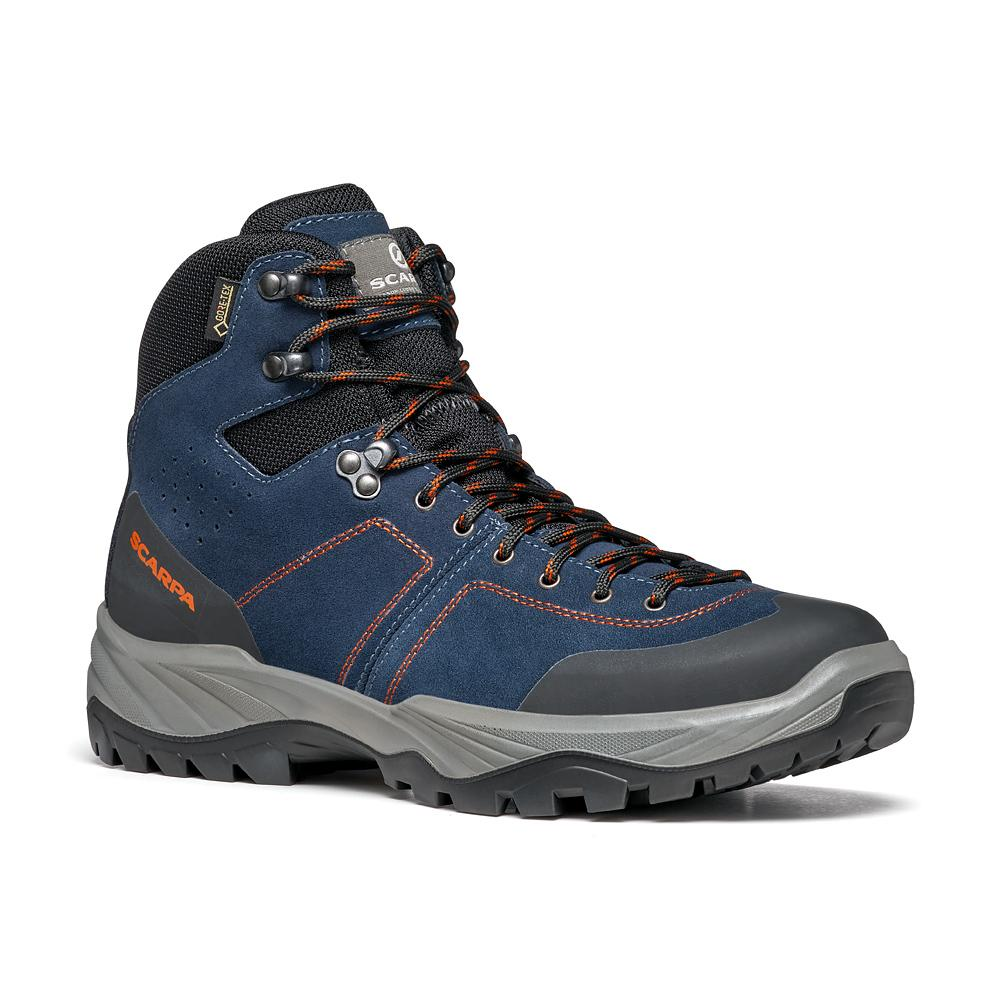 BOREAS GTX   -   Trails and forest excursions, waterproof   -   Navy