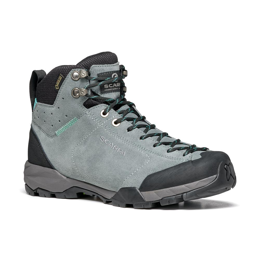 MOJITO HIKE GTX WOMAN   -   Fast hikes on mixed terrains, waterproof   -   Conifer-Maldive / Last Medium