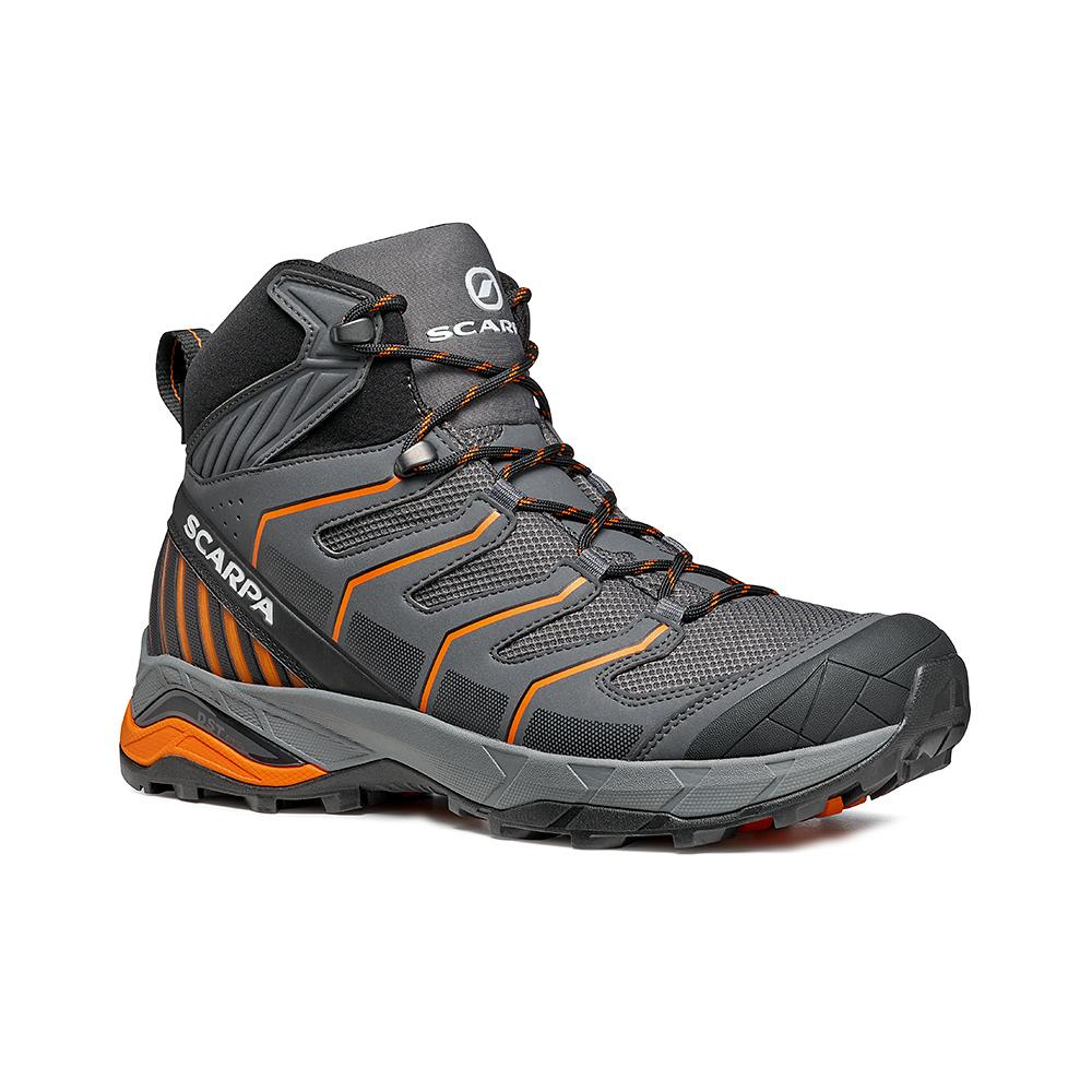 MAVERICK MID GTX   -   Fast hikes on mixed terrains, waterproof, lighweight   -  Iron Gray-Orange