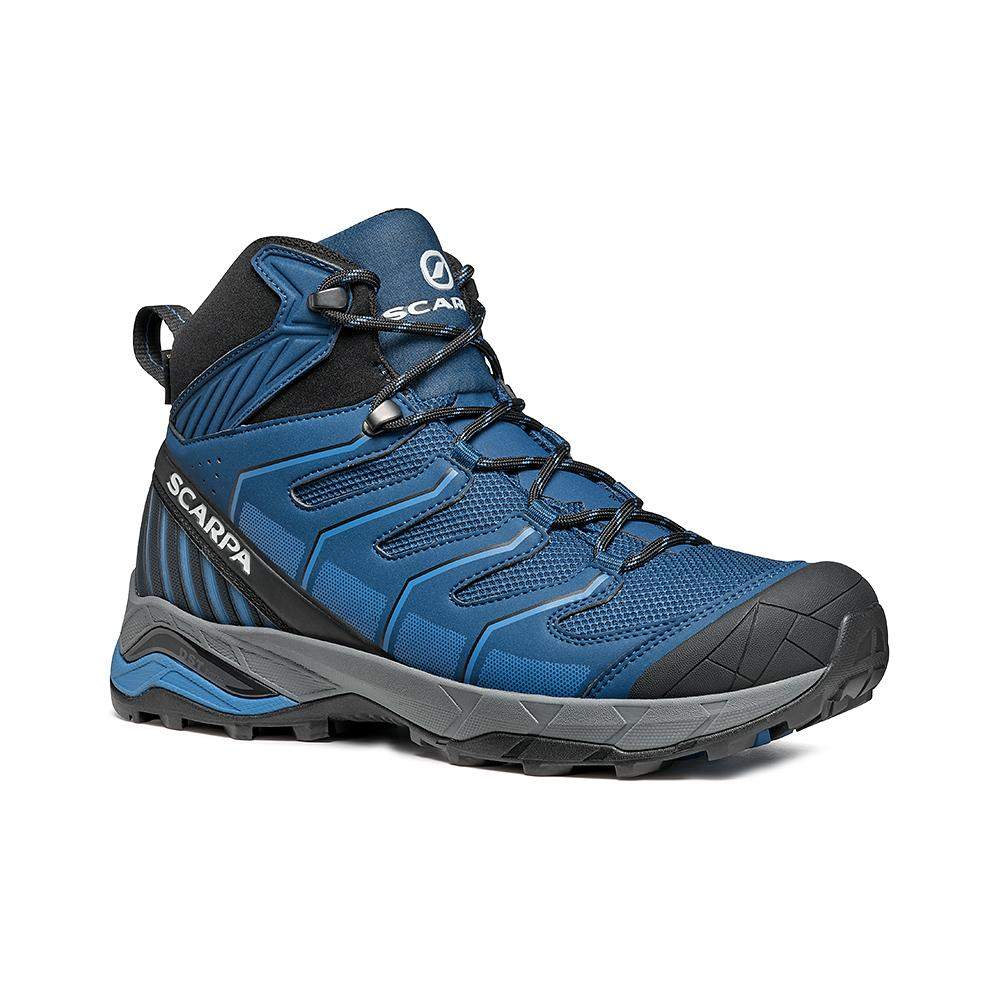 MAVERICK MID GTX   -   Fast hikes on mixed terrains, waterproof, lighweight   -  Blue-Light Blue