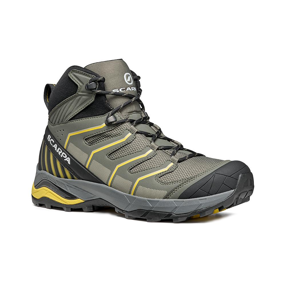 MAVERICK MID GTX   -   Fast hikes on mixed terrains, waterproof, lighweight   -  Green Olive-Sulphur