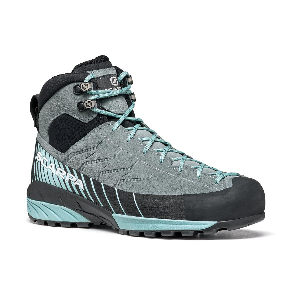 MESCALITO MID GTX WOMAN  -   Technical approach, excursions on wet terrain   -   Conifer-Aqua
