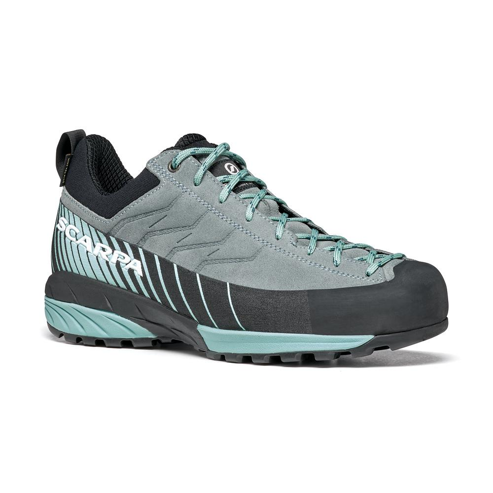 MESCALITO GTX WOMAN   -   Technical approach, via ferratas, excursions on wet terrain   -   Conifer-Aqua
