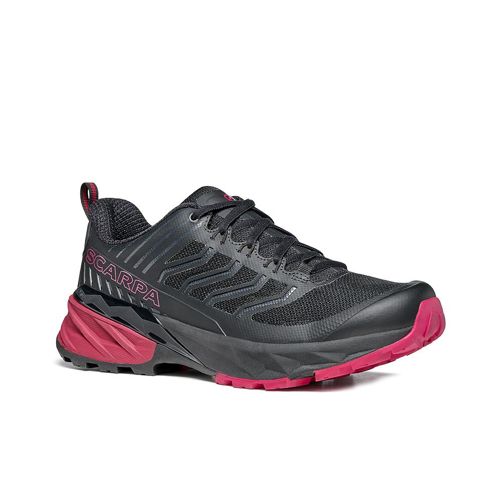 RUSH WOMAN  -   Trail Running lunga durata su terreni bagnati  -  Black-Cherry