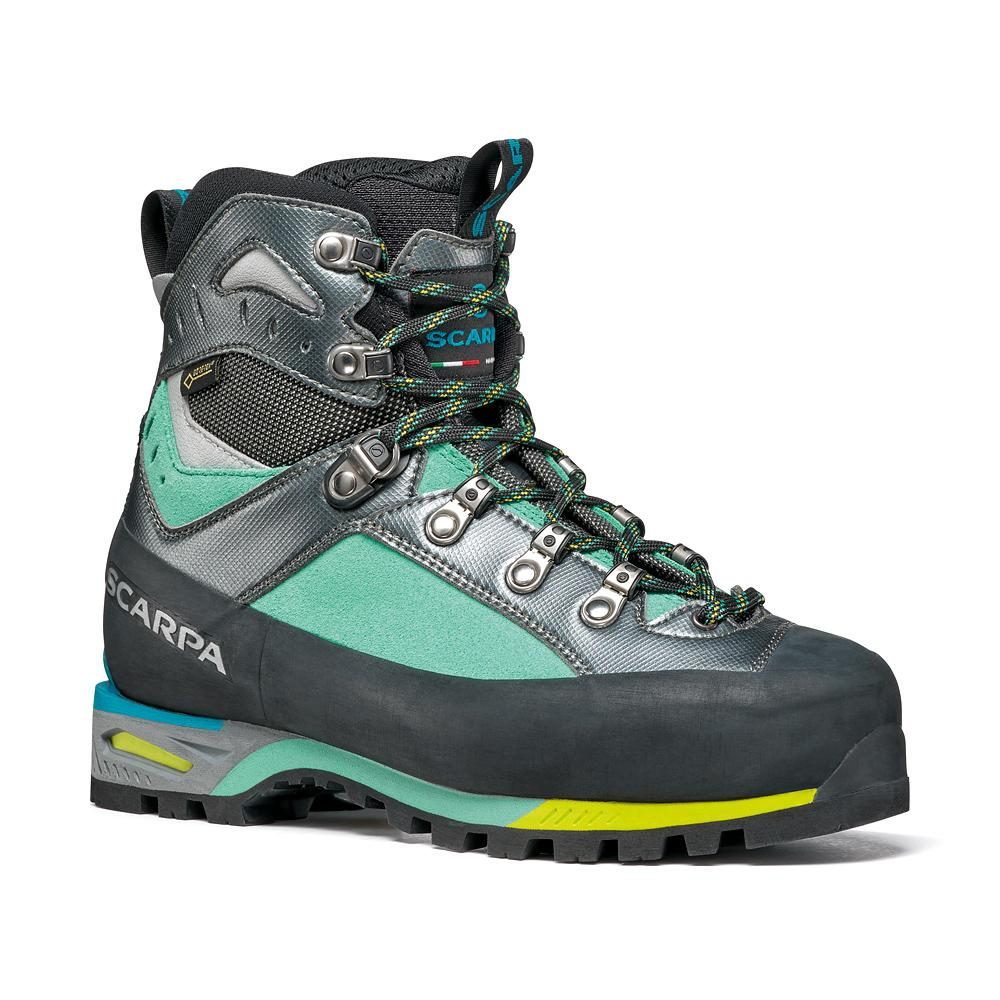 TRIOLET GTX WMN    -   Classic technical mountineering, via ferrata, alpine hiking   -   Green blue