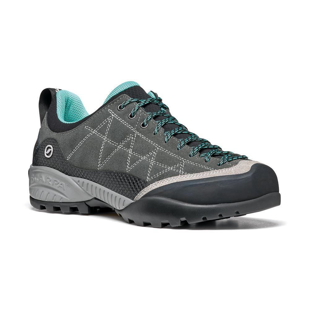 ZEN PRO WOMAN   -   Avvicinamento tecnico, vie ferrate, lunghe camminate   -   Shark-Green Blue
