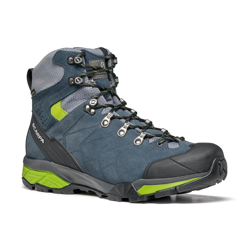ZG TREK GTX   -   For moving fast on alpine hikes, waterproof   -   Ottanio-Gray-Spring / Last Medium