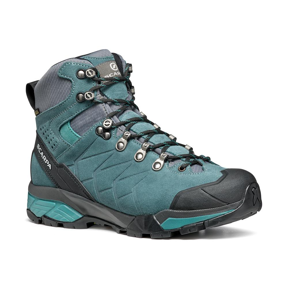 ZG TREK GTX WMN   -   For moving fast on alpine hikes, waterproof   -   Nile Blue-Gray-Lagoon / Last Medium
