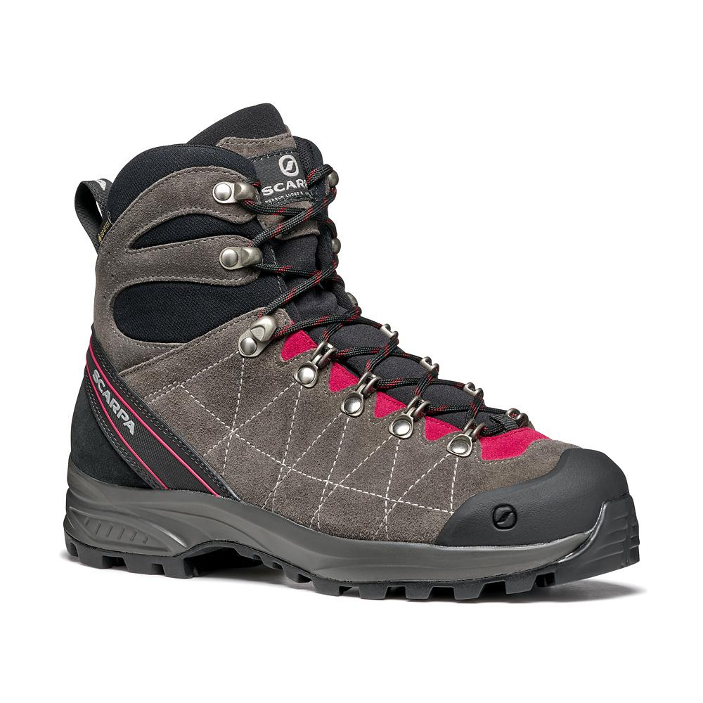 R-EVO(LUTION) GTX WMN   -   For hikes and summer walks   -   Titanium-Cherry