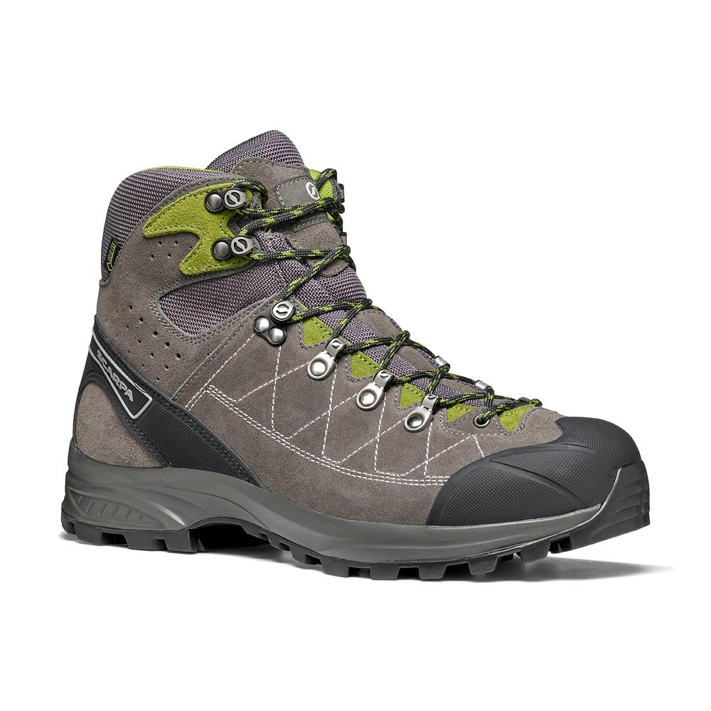 KAILASH TREK GTX    -   On trails with full backpacks, waterproof   -   Titanium-Gray-Grasshopper