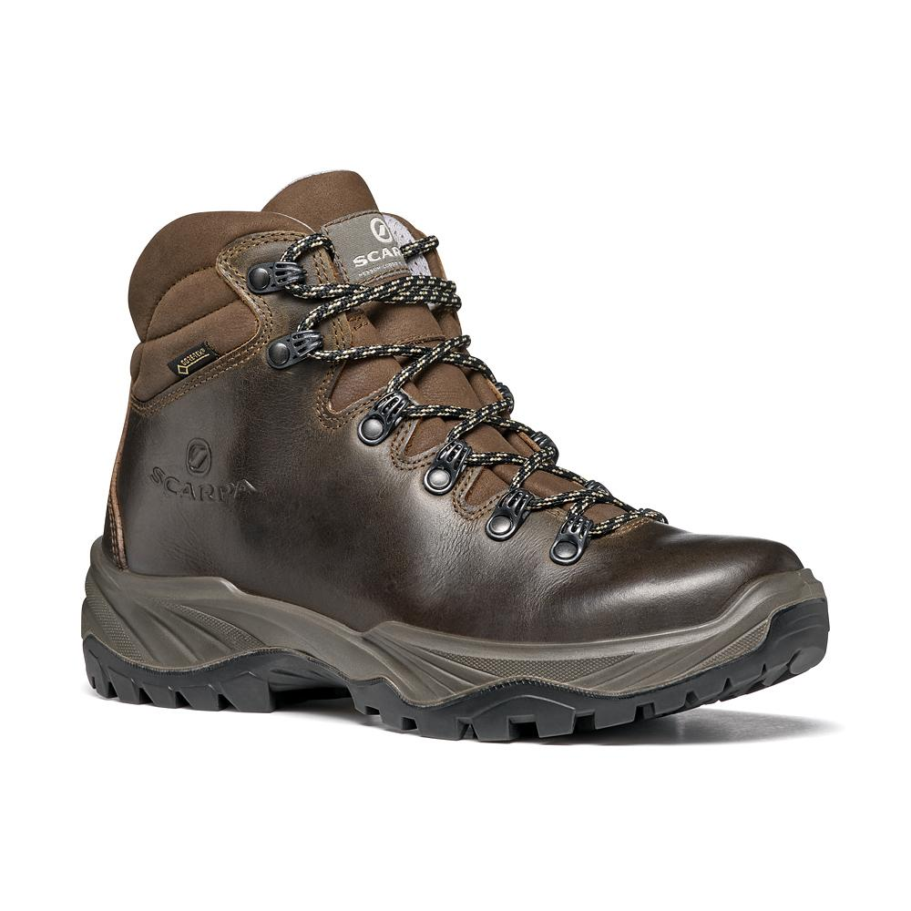 TERRA GTX WMN   -   For hiking on paths with lightweight backpacks   -   Brown