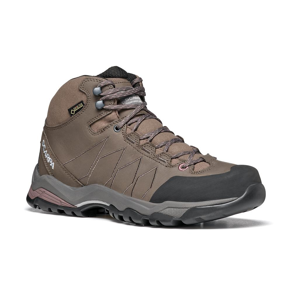 MORAINE PLUS MID GTX WOMAN   -   Hikinh su terreni misti, Impermeabile   -   Charcoal-Dark Plum