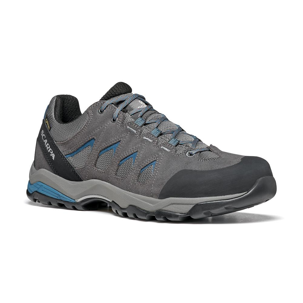 MORAINE GTX   -   Hiking lunghe camminate, uso cittadino, Impermeabile   -   Gray-Storm Gray-Lake Blue
