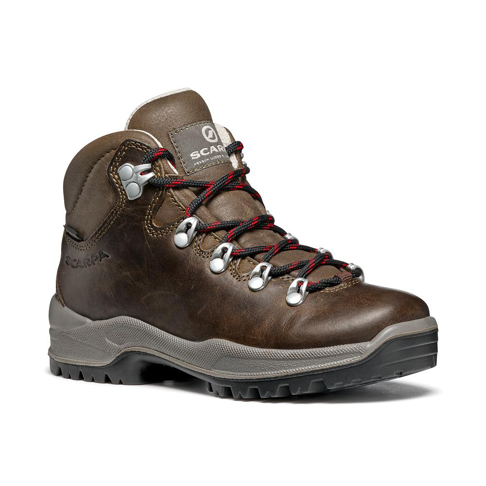 TERRA KID   -   For hiking on dirt paths   -   Brown