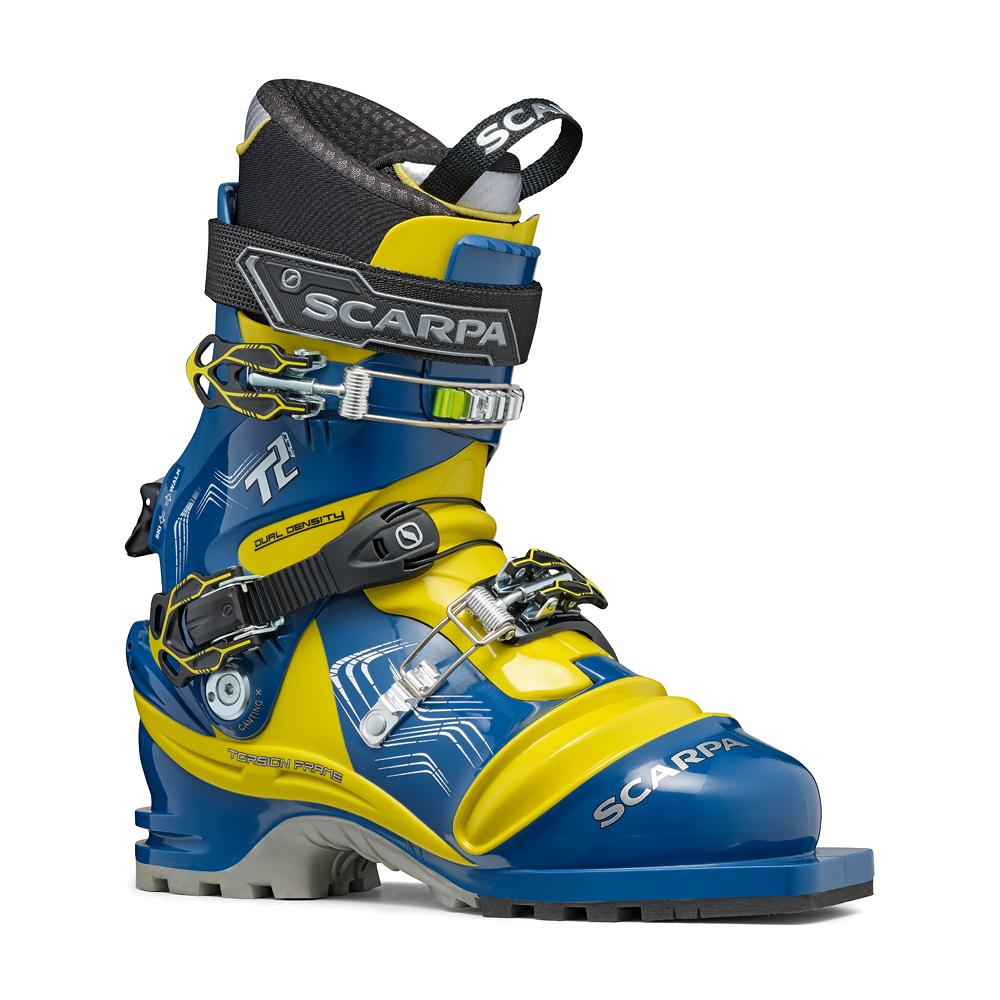 T2 ECO   -   Scarpone prestazioni all-round   -   True Blue-Acid Green