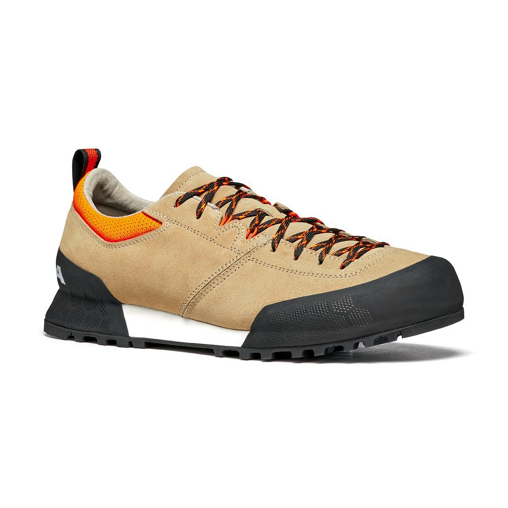 KALIPÈ    -   Technical approach   -   Beige - Orange Fluo