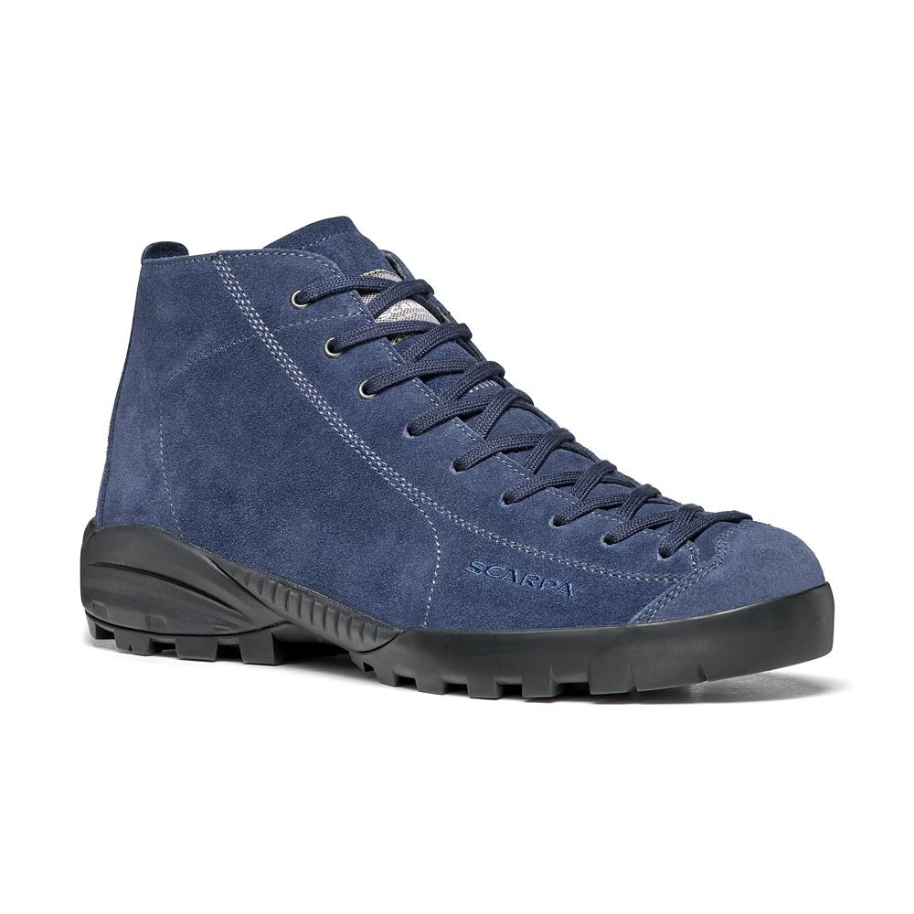 MOJITO CITY GTX  -   Comfortable and waterproof footwear   -   Blue Cosmo (Nubuck)