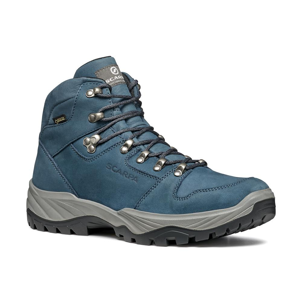 TELLUS GTX   -   Trails and forest excursions, waterproof   -   Navy