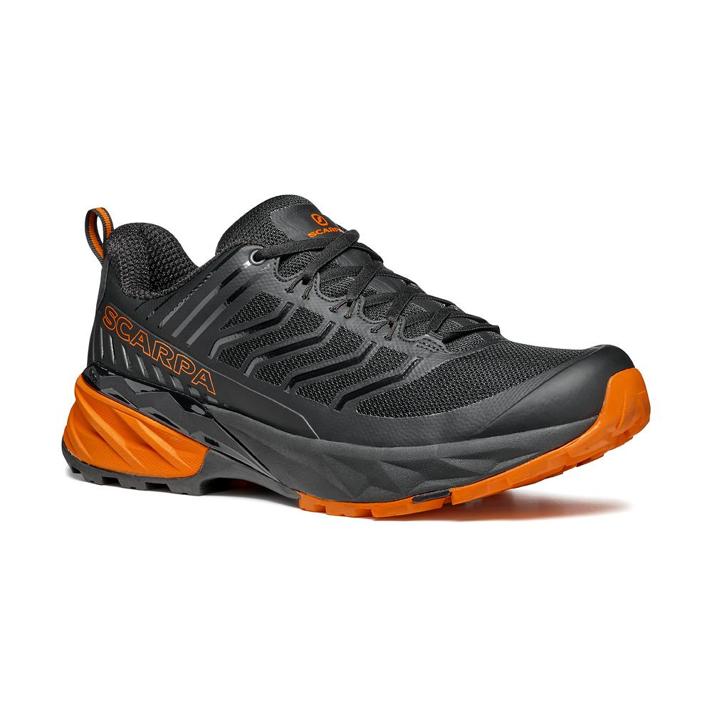 RUSH  -   Trail Running lunga durata su terreni bagnati  -  Black-Orange