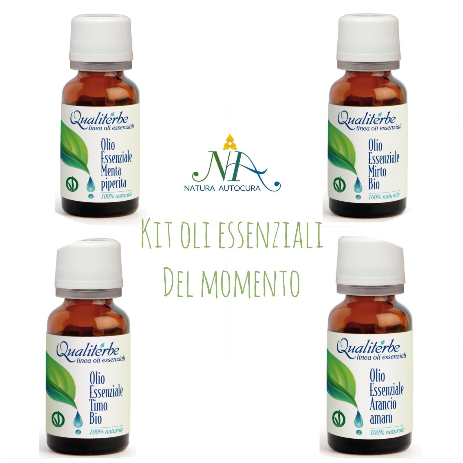 Kit Oli Essenziali del momento Per Gruppo Naturautocura