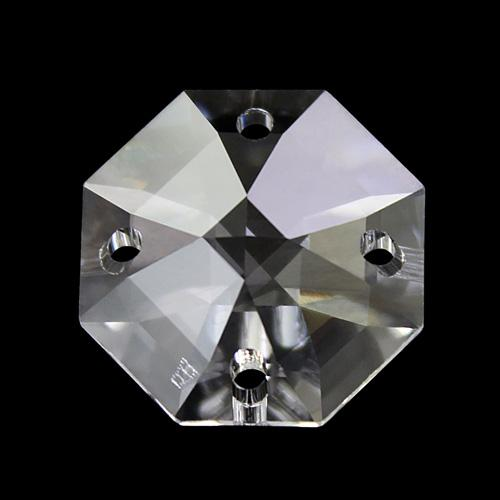 Swarovski - Cristallo ottagono quattro fori Trasparente 16 mm - 8118 -