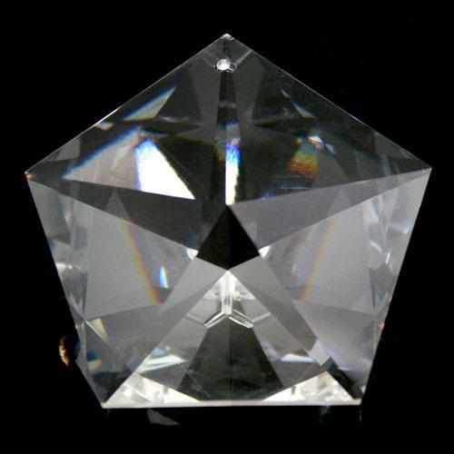 Swarovski - Pentagono stella 50 mm 1 foro - 8771 -
